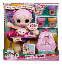 Lalaloopsy Babies pop Potty Surprise Jewel Sparkles-Vooraanzicht