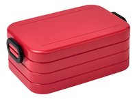 Mepal lunchbox Bento M Nordic Red-Linkerzijde