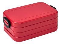 Mepal lunchbox Bento M Nordic Red-commercieel beeld