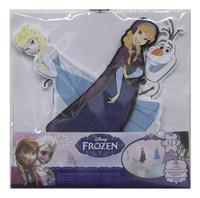 Muurstickers Disney Frozen Elsa, Anna en Olaf