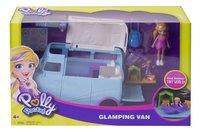 Polly Pocket speelset Glamping Van-Vooraanzicht