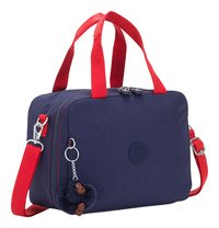 Kipling lunchtas Miyo Polish Blue C-Linkerzijde