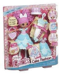 Lalaloopsy Girls pop Cake Fashion Fancy Frost N' Glaze-Linkerzijde