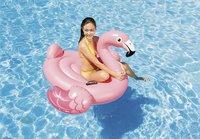 Intex luchtmatras voor 1 persoon Flamingo roze-Afbeelding 1