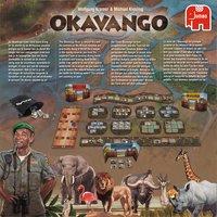 Okavango-Achteraanzicht