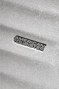 American Tourister harde reistrolley Wavebreaker Spinner Silver Sparkle 55 cm-Artikeldetail
