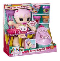 Lalaloopsy Babies pop Potty Surprise Jewel Sparkles-Linkerzijde