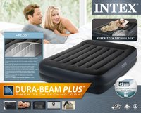 Intex luchtmatras voor 2 personen Dura-Beam Standard Queen Pillow Rest Raised-Vooraanzicht