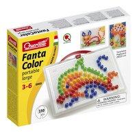 Quercetti insteekparels Fanta Color large 150 stuks met handvat
