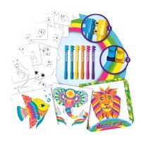 Lansay Rainbow Brush - Set d'activités Animaux-Avant