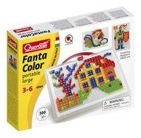 Quercetti insteekparels Fanta Color large 300 stuks met handvat