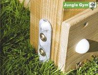 Jungle Gym houten speeltoren De Hut met gele glijbaan-Artikeldetail