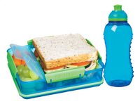 Sistema brooddoos en drinkfles 330 ml Lunch Pack blauw-Afbeelding 1