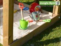 Jungle Gym tour de jeu en bois Barn avec toboggan bleu-Détail de l'article