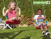 Jungle Gym portique en bois Cubby avec toboggan vert-Détail de l'article