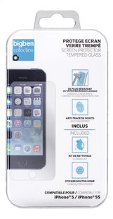 bigben screen protector Tempered Glass iPhone 5/5S