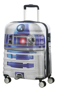 American Tourister harde reistrolley Wavebreaker Disney Star Wars R2-D2 grijs 55 cm-Rechterzijde