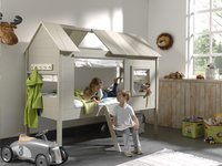 Bed Boomhut Charlotte taupe-Afbeelding 2