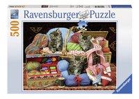 Ravensburger puzzel Pluizig genot-Vooraanzicht