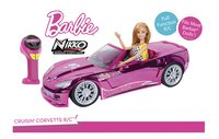 Nikko voiture RC Barbie Crusin' Corvette