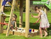 Jungle Gym tour de jeu en bois House avec toboggan vert-Détail de l'article