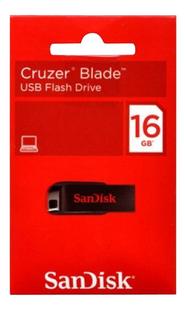 SanDisk USB-stick Cruzer Blade 16 GB-Vooraanzicht