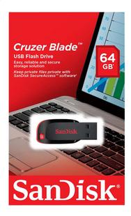 SanDisk USB-stick Cruzer Blade 64 GB-Vooraanzicht