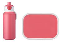 Mepal brooddoos en drinkfles Campus Pink-commercieel beeld