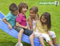 Jungle Gym tour de jeu en bois House avec toboggan bleu-Détail de l'article