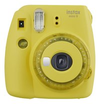 Fujifilm appareil photo instax mini 9 Clear Yellow-Avant