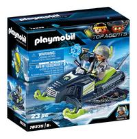 PLAYMOBIL Top Agents 70235 Artic Rebels Sneeuwscooter-Linkerzijde