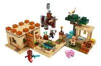 LEGO Minecraft 21160 L'attaque des illageois-Avant