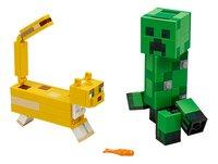 LEGO Minecraft 21156 Bigfigurine Creeper et ocelot-Avant