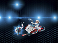 Playmobil Super 4 9003 Skyjet met Dr. X & robot -Afbeelding 1
