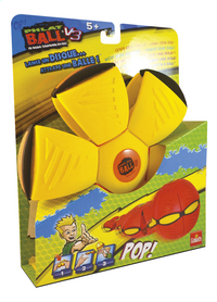 Goliath frisbee Phlat Ball V3 geel/oranje-Linkerzijde
