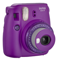 Fujifilm appareil photo instax mini 9 Clear Purple-Côté gauche