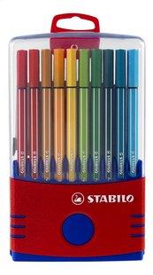 STABILO viltstift Pen 68 Color Parade rood - 20 stuks-Vooraanzicht