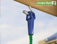 Jungle Gym houten schommel De Hut met blauwe glijbaan-Artikeldetail