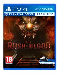 PS4 VR Until Dawn: Rush of Blood ENG/FR