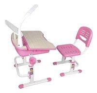 Bureau Kids comfortline 301 avec lampe rose-Côté droit
