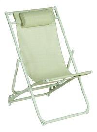 Chaise de plage vert-Détail de l'article