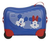 Samsonite valise rigide Dream Rider Disney Mickey et Minnie bleu 50 cm-Avant