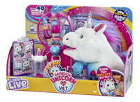 Interactieve knuffel Little Live Pets Rainglow Unicorn Vet Set-Rechterzijde