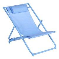 Chaise de plage bleu-Avant