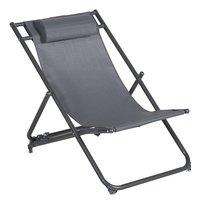 Chaise de plage gris-Avant