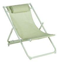 Chaise de plage vert-Avant