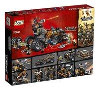 LEGO Ninjago 70654 Dieselnaut-Achteraanzicht