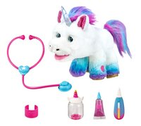 Interactieve knuffel Little Live Pets Rainglow Unicorn Vet Set-commercieel beeld