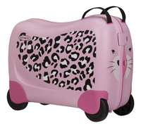 Samsonite harde reistrolley Dream Rider Leopard 50 cm-Linkerzijde