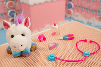 Interactieve knuffel Little Live Pets Rainglow Unicorn Vet Set-Afbeelding 3